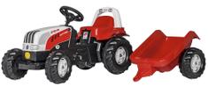 Rolly Toys Pedálos traktor Utánfutóval - Steyr
