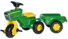 Rolly Toys Zöld traktor pótkocsival