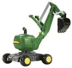 Rolly Toys Futóbicikli Rolly Digger John Deere Markológép, Zöld