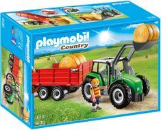 Playmobil 6130 Veliki traktor s prikolicom