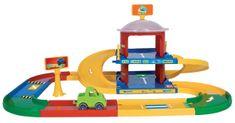 Wader Kid Cars 3D 2-nadstropna garaža