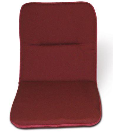 V-Garden poduszka na krzesło 100x50, burgundowa
