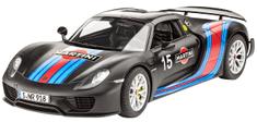 """REVELL 07027 Porsche 918 Spyder """"Weissach Sport Version"""" Modell készlet, 1:24"""