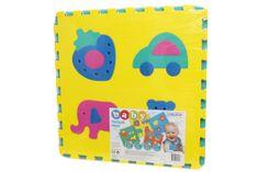 Unikatoy pjenaste puzzle Baby Maxi 24241, 4 komada