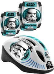 Stamp Zestaw dziecięcy Kask + ochraniacze na kolana i łokcie, Star Wars