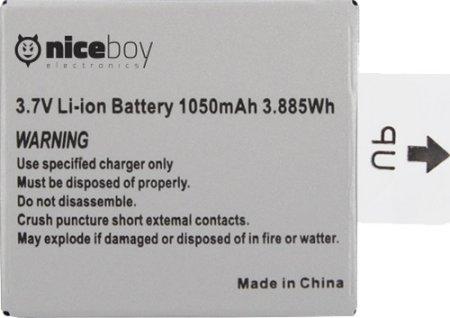 Niceboy Li-Ionska baterija za Vega 4K, Vega 5 in Vega 6 Star