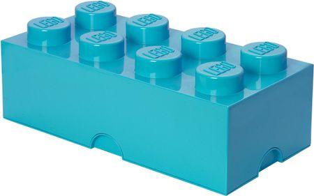 LEGO Storage box 25x50 cm, azúrová