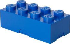LEGO Box na svačinu 10 x 20 x 7,5 cm modrá - použité