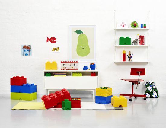 LEGO Úložný box kulatý ø12 x 18 cm tmavě zelená