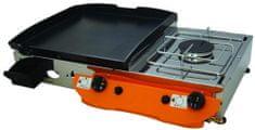 Gorenc roštilj na plin Lotus 65K, Fe ploča