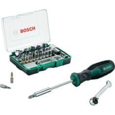 Bosch 28-elementowy zestaw z grzechotką