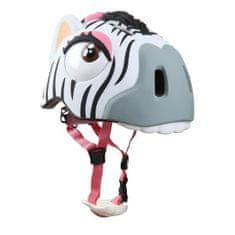 Crazy Stuff čelada Crazy, zebra