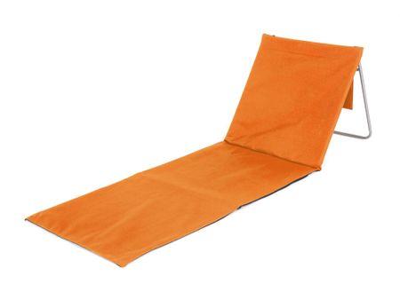 Happy Green Leżak plażowy AUSTIN pomarańcz