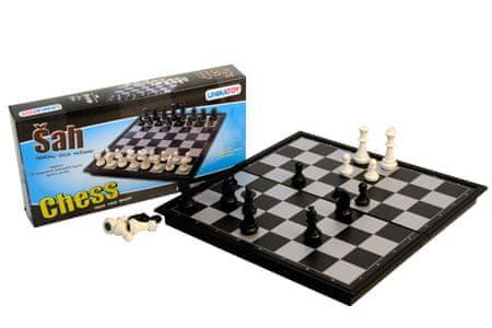 Unikatoy šah 25x25 cm 23897, pvc