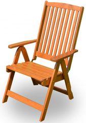 Rojaplast Holiday Kerti szék, Lakkozott