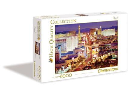Clementoni HQC sestavljanka Las Vegas, 6000 kosov (36510)
