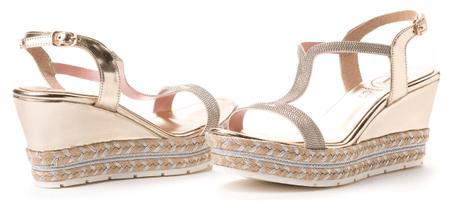 VITTI LOVE dámské sandály 36 zlatá