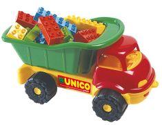 Unico Autko z klockami