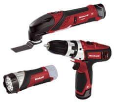 Einhell zestaw narzędzi akumulatorowych TE-TK 12 Li