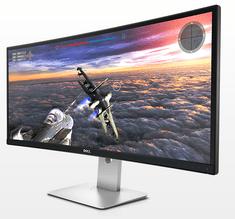 DELL LED monitor UltraSharp Curved U3415W