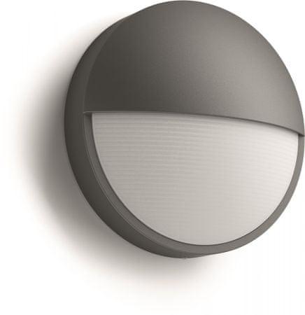 Philips Zewnętrzna ścienna LED lampa Capricorn 16455/93/16