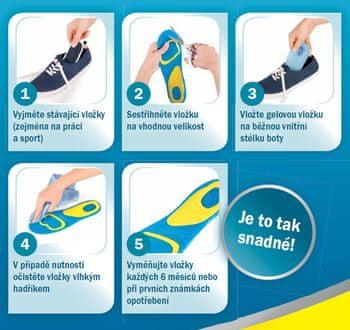 Scholl Gelové vložky do bot Everyday pro ženy - Péče o nohy - Tělo 81a2776758