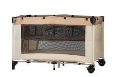 G-mini Lůžko vkládací pro cestovní postýlky 120x60cm šedá - rozbaleno