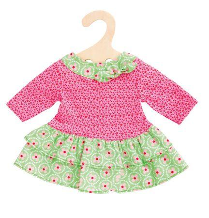 Heless Sukienka dla lalki zielono/różowa