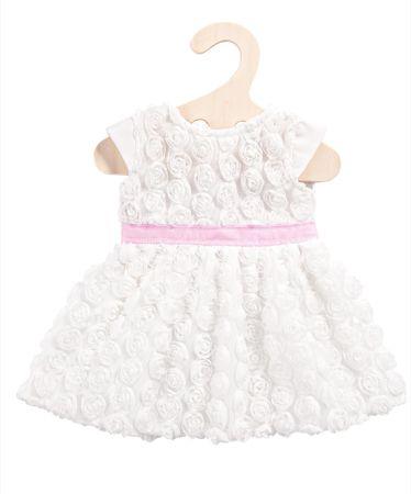 Heless Šaty Dream bílé s mašlí