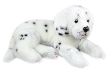 Rappa Plyšový pes dalmatin ležící, 38 cm