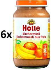 Holle Bio Cereální müsli s ovocem - 6 x 220g