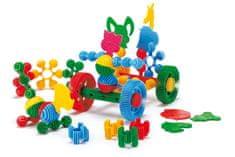 Wader Funny Block kocke za sestavljanje, 36 kosov