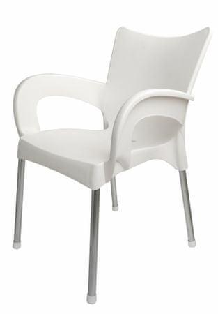 MEGA PLAST krzesło Dolce MP463, białe