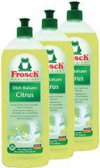 Frosch Eko deterdžent za pranje suđa citrus 3x750 ml