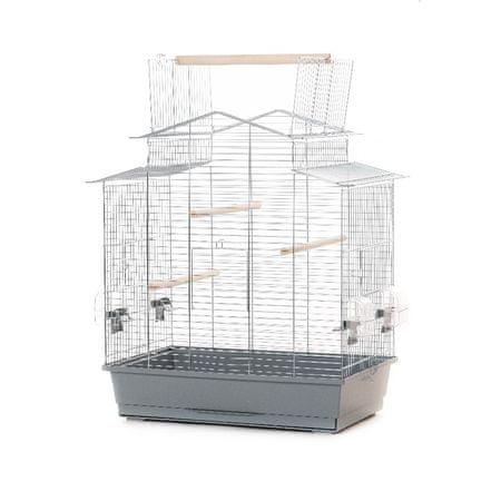 Akinu Klatka dla ptaków IZA III cynk 58,5x38x65cm