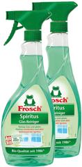 Frosch Eko Spiritus sredstvo za čišćenje za staklo 2x500 ml