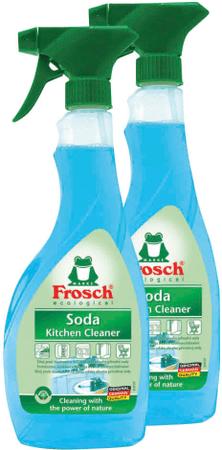 Frosch Eko Sprej čistič na kuchyne sa sódou 2x500 ml