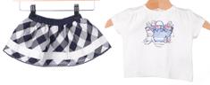 Primigi T-shirt dziewczęcy + spódnica