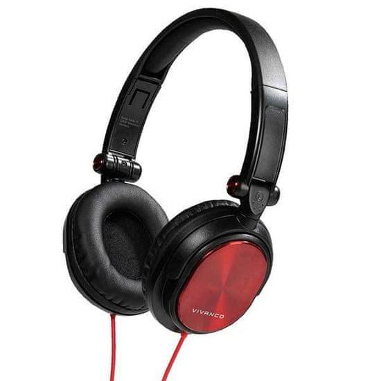 VIVANCO DJ 30, čierna/červená