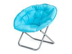 Happy Green fotel składany ANZIO niebieski
