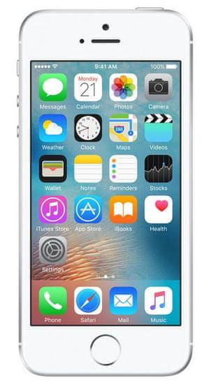 Apple iPhone SE, 32 GB, stříbrný - použité