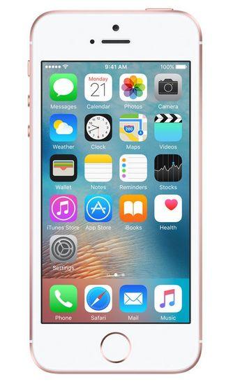 Apple iPhone SE, 128 GB, Růžově zlatý - použité