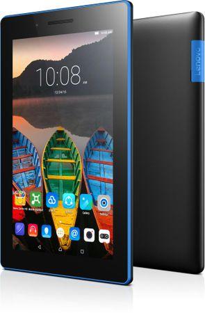 """Lenovo tablični računalnik TAB3 7"""" IPS Android 5.0, črn"""