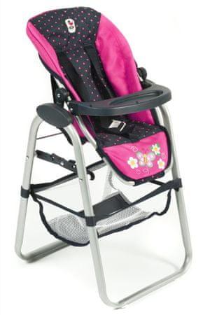 Bayer Chic Jídelní židlička pro panenku, 12