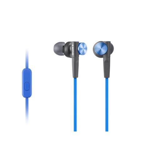 SONY MDR-XB50AP Fülhallgató, Kék