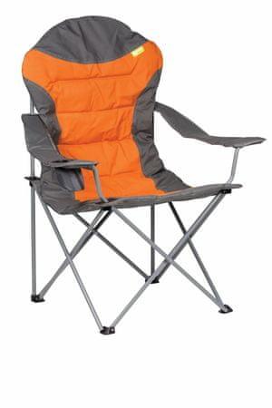 Kampa stolica za kampiranje XL High Back, narančasta