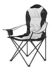 Happy Green krzesło wędkarskie KORFU, szare