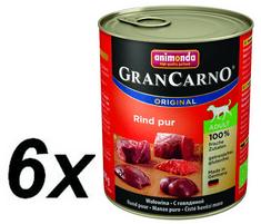 Animonda Grancarno Adult Kutyakonzerv, marha, 6 x 800 g