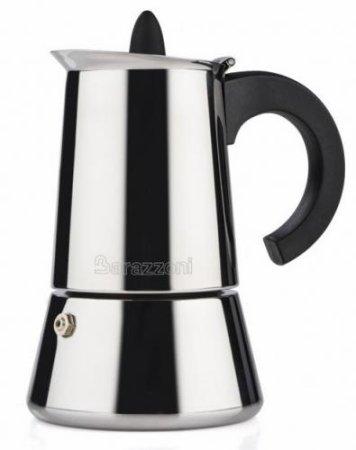 Barazzoni INOX Kávéfőző, 6 személyes