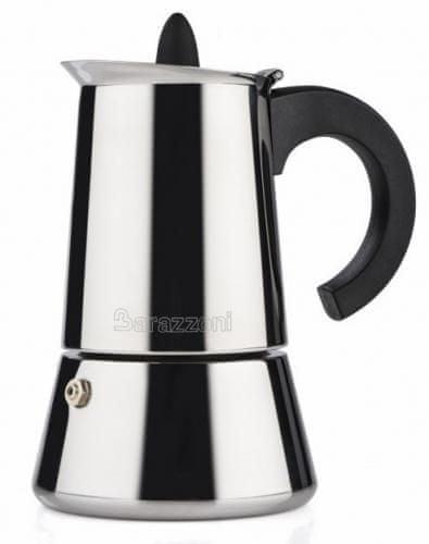 Barazzoni kávovar nerezový 6 šálok